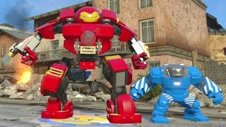 LEGO Marvel's Avengers - All Iron Man Suits W/ Gameplay (Suit Up Animations + DLC)