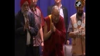 India News - Tibetan spiritual leader Dalai Lama addresses students in India