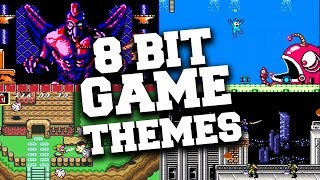 Top 8 bit Video Game Themes That Will Send You Back to Your Childhood