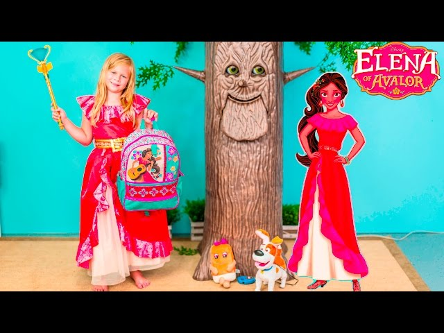 ASSISTANT Disney Elena of Avalor Surprise New Elena Toys Surprise Video