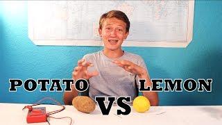Why Does A Potato Battery Work Better Than A Lemon Battery?