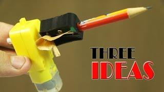 Three Cool  Ideas Using Cheap DC Motors