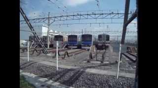 2013/4/12(金)東武鉄道南栗橋車両管区風景