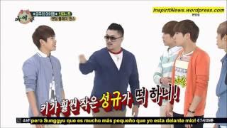 130501 Weekly Idol - Infinite Ep 1 2/4 Random Play Dance (sub español) HD