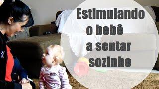 VEDA 29 - Estimulando o bebê a sentar - DailyVLOG 36