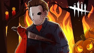 Dead by Daylight | HALLOWEEN! NEW KILLER MICHAEL MYERS! (w/ H2O Delirious, Bryce, & Ohmwrecker)