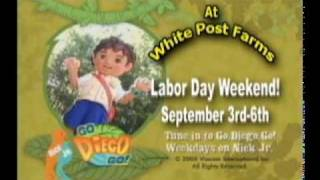 Diego Visits White Post Farms