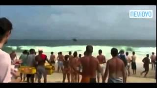 Brezilya sahillerinde şok!