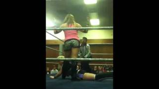Stampede Wrestling Mixed Tag Team Action