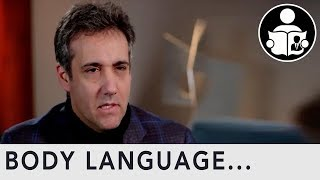 Body Language: Michael Cohen After Sentencing