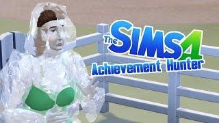 FROZEN - 21 - 28/98 - Achievement Hunter (Sims 4 Seasons)