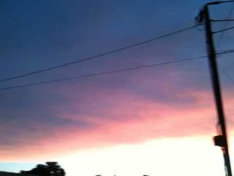 Red Sky Night