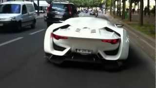 Justin Bieber - Driving his Batman Car in France
