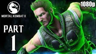 Mortal Kombat X Walkthrough PART 1 (PS4) 60fps No Commentary [1080p] TRUE-HD QUALITY