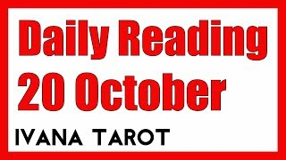 ❤️ You Are My Lady Daily Tarot Reading 20 October