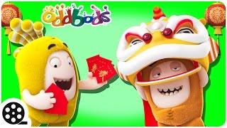 Cartoon | Oddbods Visit China | Mini Cartoon Movie | Funny Cartoons For Children
