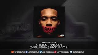 G Herbo - Malcolm [Instrumental] (Prod. By @ThaKidDJL) + DL via @Hipstrumentals