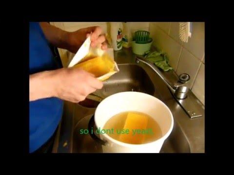strong  homemade  orange juice  brew