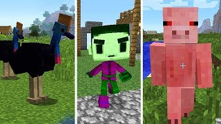 10 MOBS THAT WERE REMOVED FROM MINECRAFT!