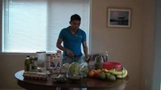 La dieta de un corredor: Alex Dominguez Show