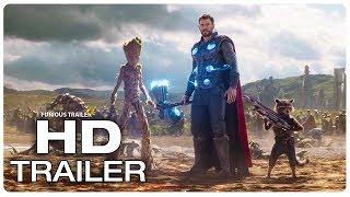AVENGERS INFINITY WAR Thor Arrives In Wakanda Fight Scene Trailer (2018) Superhero Movie Trailer HD