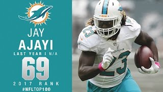 #69 Jay Ajayi (RB, Dolphins) | Top 100 Players of 2017 | NFL