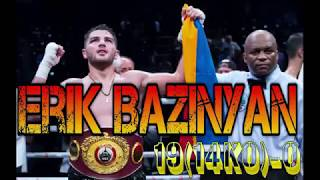 ERIK  BAZINYAN - HIGHLIGHTS / BZO / 2018 / ARMENIA / CANADA / #НокауЧ Erik Bazinyan  David Zegarra