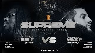 BIG T VS MIKE P SMACK/ URL RAP BATTLE | URLTV