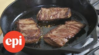Grilled Skirt Steak with Jalapeno Lime Marinade | Epicurious
