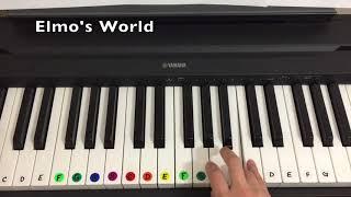 Piano Demo - Elmo's World