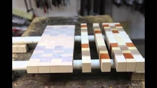 How to make an end grain cutting board.