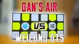 GAN 356 AIR VS MOYU WEILONG GTS [Cube Comparison]