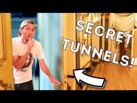 HIDDEN SECRET TUNNELS AT 5 STAR RESORT 🔦