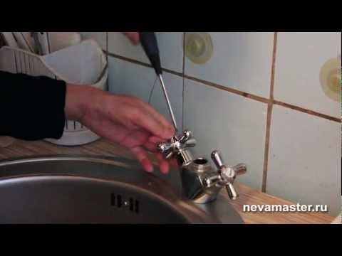 Замена крана на кухне своими руками