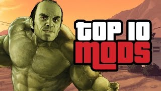 Top 10 Grand Theft Auto 5 Mods
