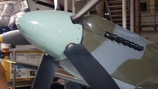 Supermarine Spitfire MK 24 at Southampton