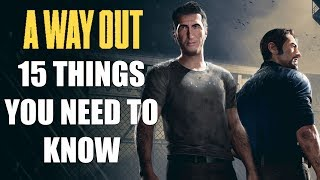 A Way Out - 15 Things You ABSOLUTELY NEED TO KNOW BEFORE YOU BUY
