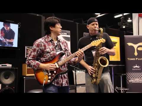 Xxx Mp4 AMAZING Guitar And Sax Duet At NAMM 2014 Stevie Wonder S Jesus Children 3gp Sex