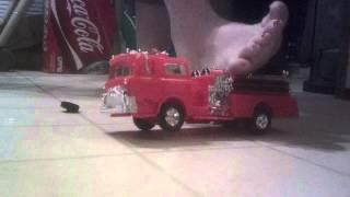 Giantess police car crush