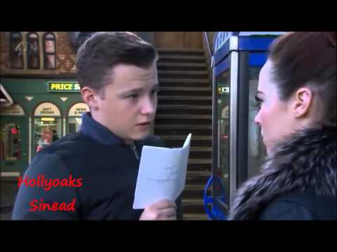 Hollyoaks Robbie and Sinead Burn