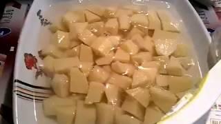 طريقة البطاطس بالخضرة (بديل القلقاس) حصرى لقناة سلمى  لوصفات المصرية