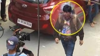 Shahrukh Shooting For FAN Movie In Dwarka