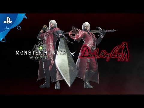 Xxx Mp4 Monster Hunter World Devil May Cry Collaboration PS4 3gp Sex