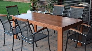 How to make solid oak table