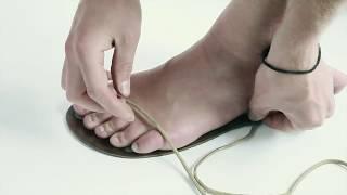 Základní úvaz Huarache.cz barefoot obuv na míru