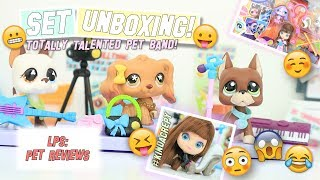 LPS: Totally Talented Pet Band! - Set Unboxing & Review