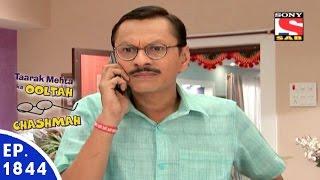 Taarak Mehta Ka Ooltah Chashmah - तारक मेहता - Episode 1844 - 7th January, 2016