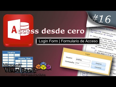Xxx Mp4 Login Form Formulario De Acceso Access Desde Cero 16 3gp Sex
