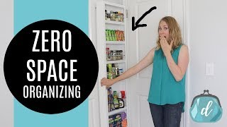 HIDDEN STORAGE Kitchen & Bathroom Organizing Ideas! 💛 Perfect for Apartments and Renters