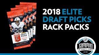 2018 Elite Draft Picks Football Rack Packs - It